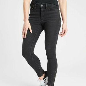 ATHLETA Sculptek Ultra Skinny Jeans with Zipper